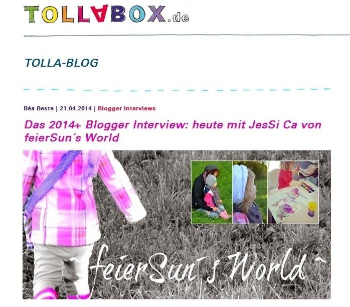Tollabox-Blogger Interview