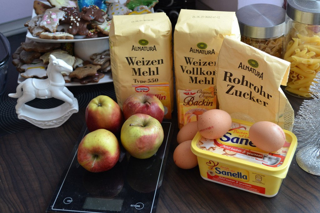 01 Zutaten Apfelplätzchen