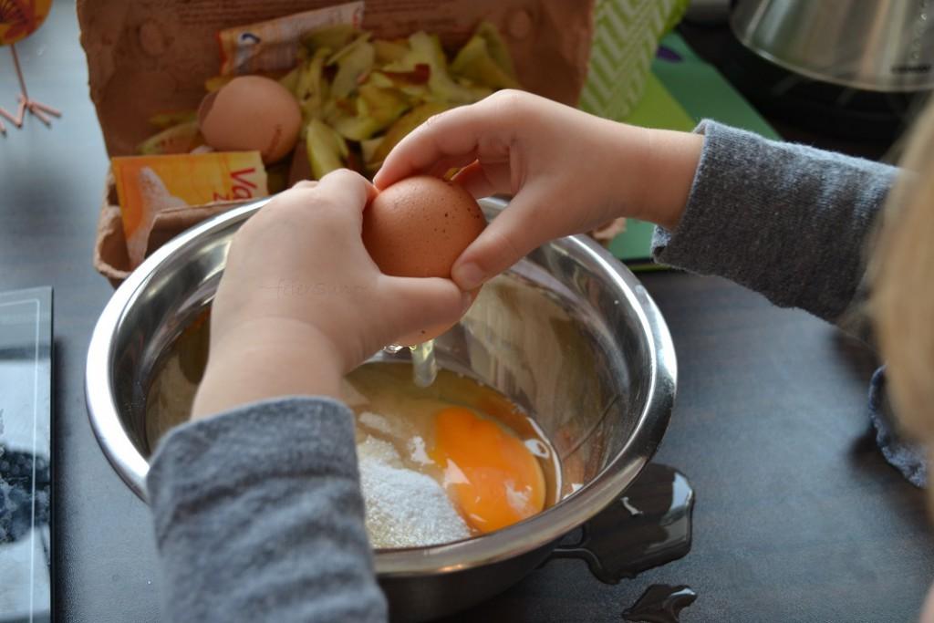 04 Apfelplätzchen Eier dazu