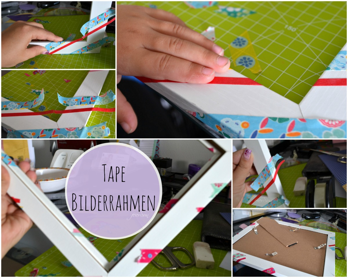 DiY Tape Bilderrahmen ToDo