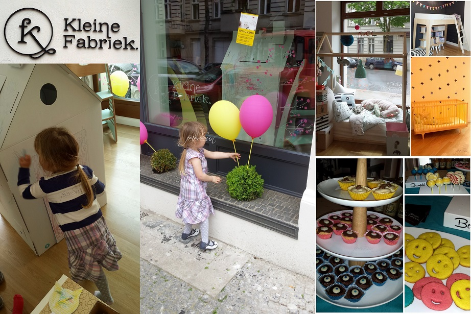 Abenteuer Berlin - Events überall - Blomm und kleine Fabriek Collage Eroeffung