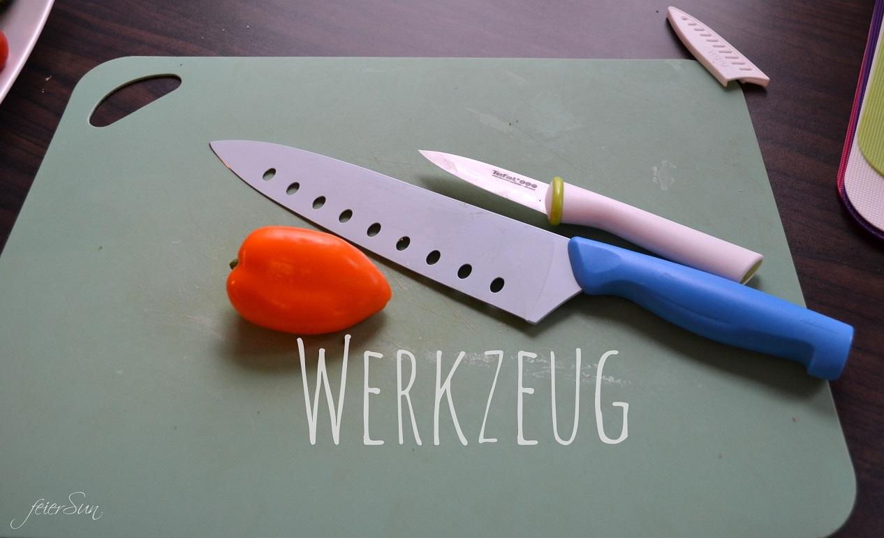 Lieblingspasta - Käse-Sahne 02 Werkzeug