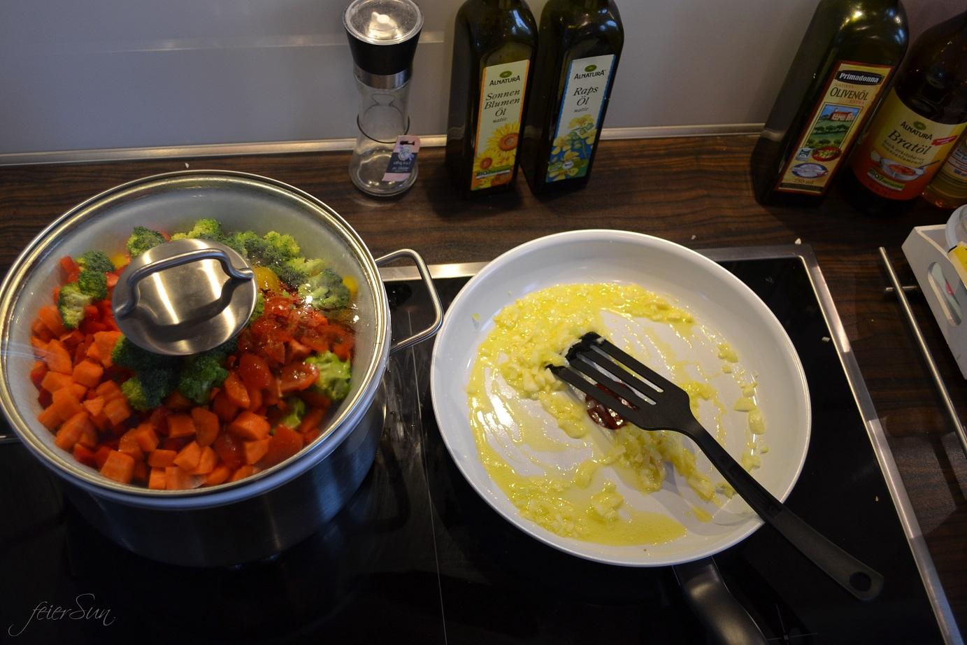 Lieblingspasta - Käse-Sahne 04 Zubereitung