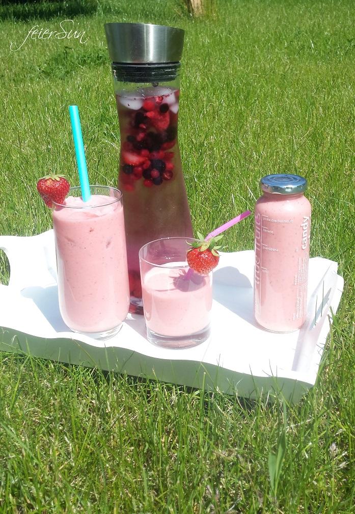 Erdbeer-Sommer-Smoothie Ergebnis