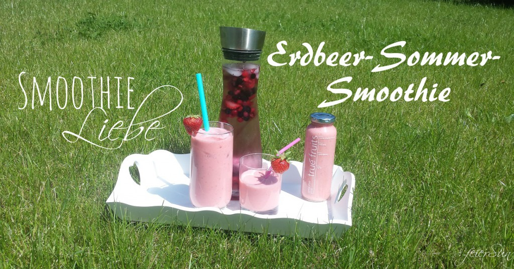 Erdbeer-Sommer-Smoothie Titel