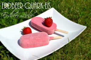 Erdbeer-Quark-Eis Titel