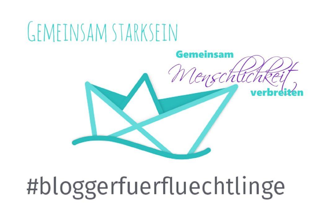 Gemeinsam starksein #BloggerFuerFluechtlinge Titel