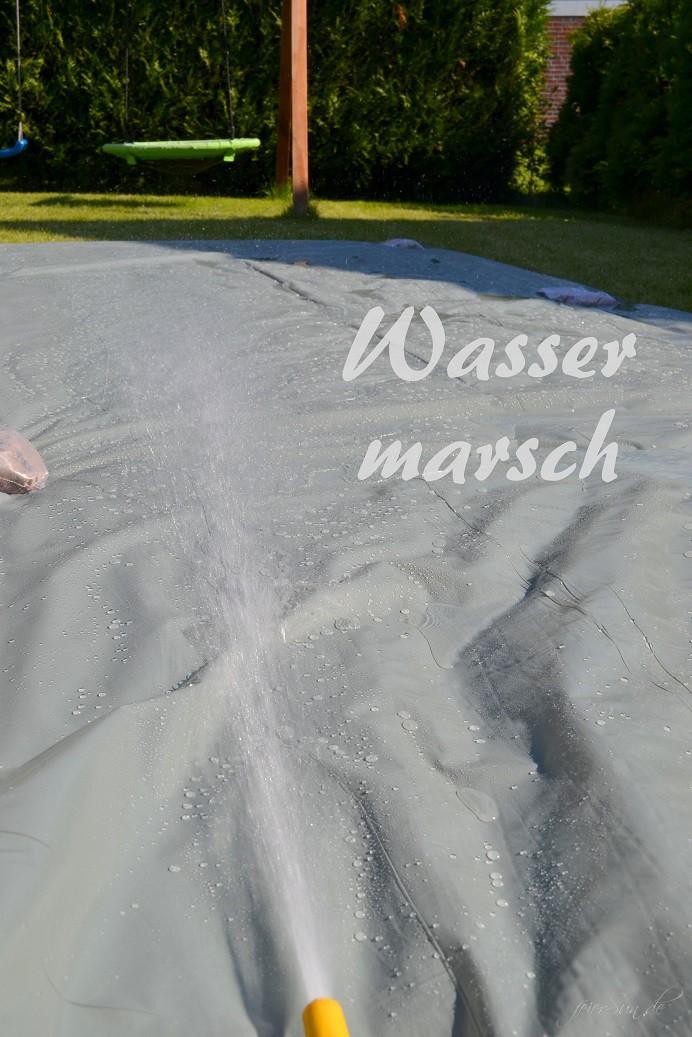 Wasserrutsche Ferienspaß 05 Wasser marsch