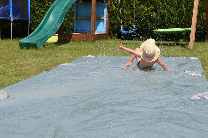 Wasserrutsche Ferienspaß Spaß haben (2) Wochenede in Bildern Fr 01