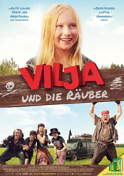 Vilja und die Raeuber Plakat