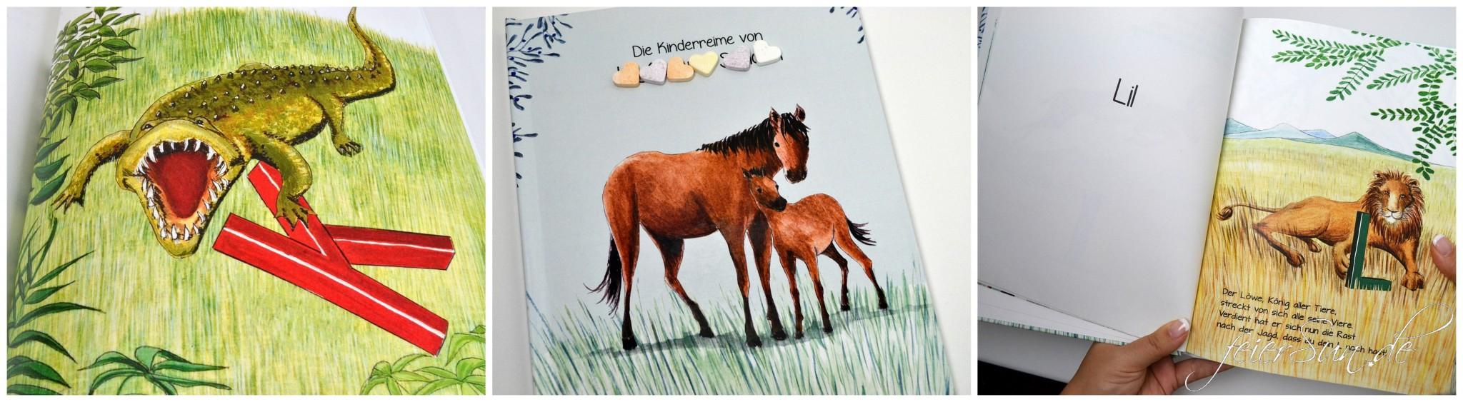 Personalisierte Kinderreime Blick ins Buch