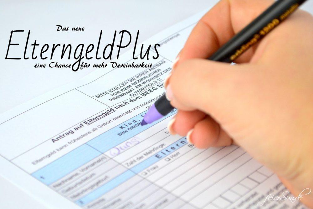 ElterngeldPlus - eine Chance für mehr Vereinbarkeit Titel.