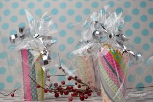 Geschenkebecher - Plaetzchen gut verpackt
