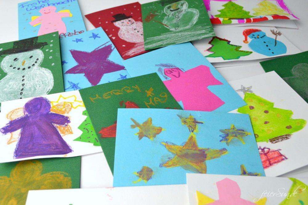 Handgemacht - Weihnachtskarten rocken Karten