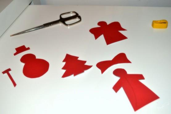 Handgemacht - Weihnachtskarten rocken Vorlagen