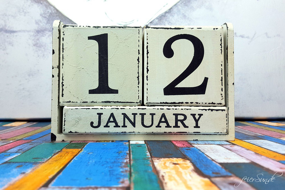 Die ersten 12 von 12 in 2016 Titel