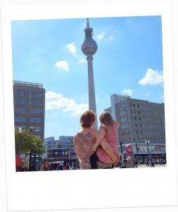 Berlin im Herzen - im Herzen Berlin Polaroid