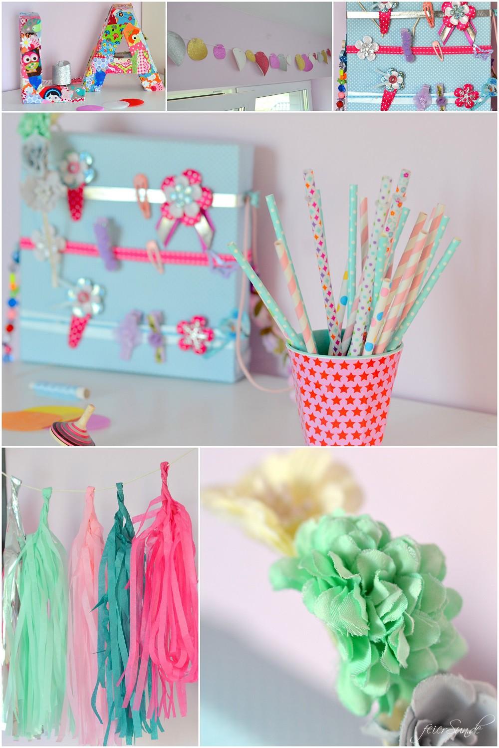 Kinderzimmergestaltung - Summer Time - froehliche Gestaltung Collage Produkte_Sideboard_Deko MyShiny1