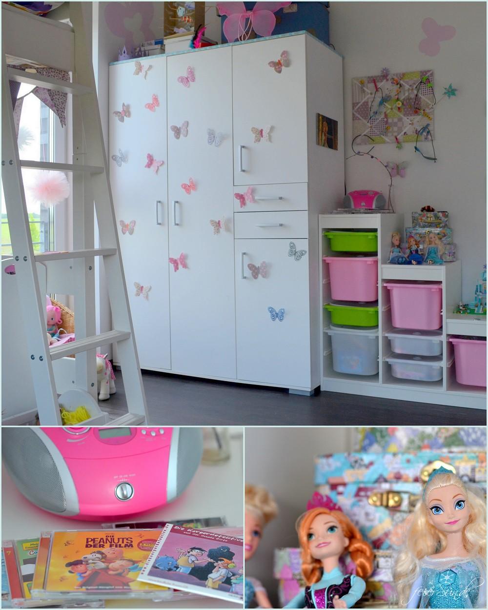Mädchenzimmer Schrankwand