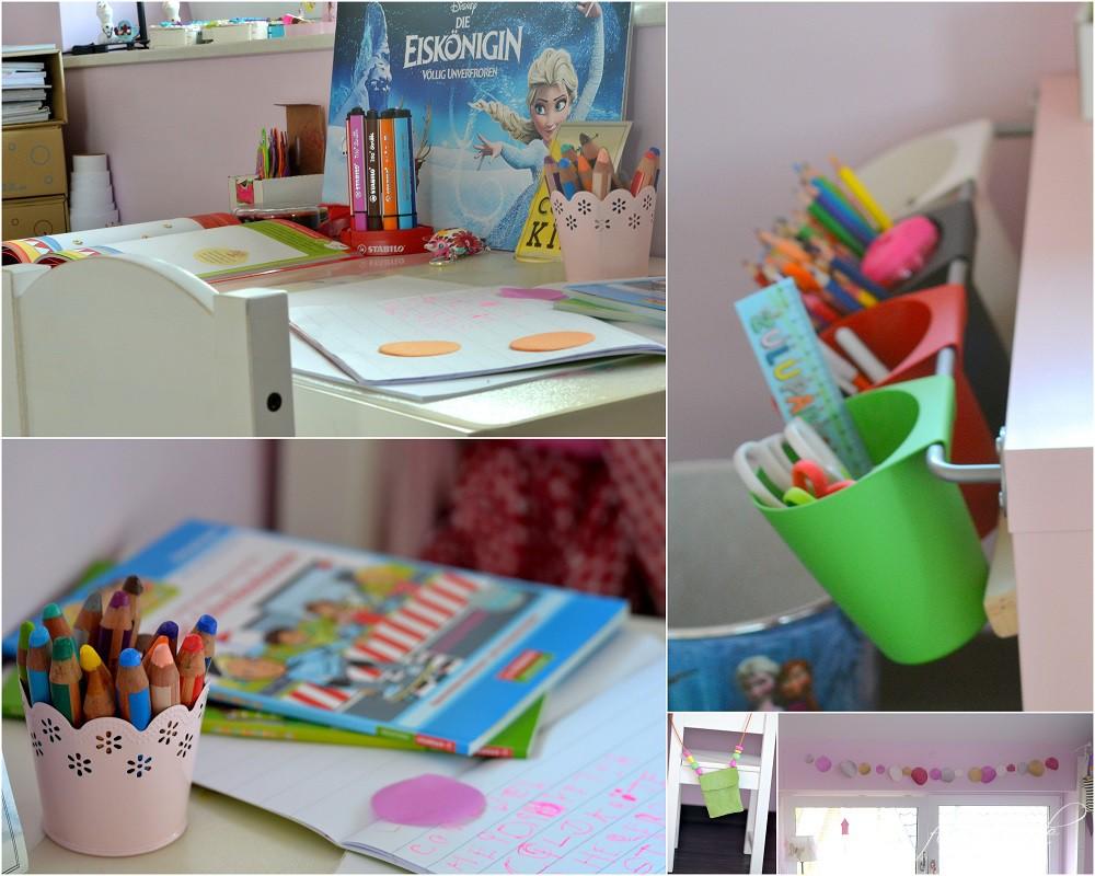 Mädchenzimmer Schreibtisch