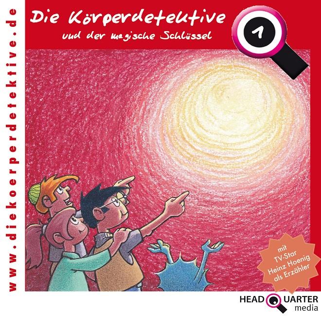 Körperdetektive CD-1 der magische Schlüssel