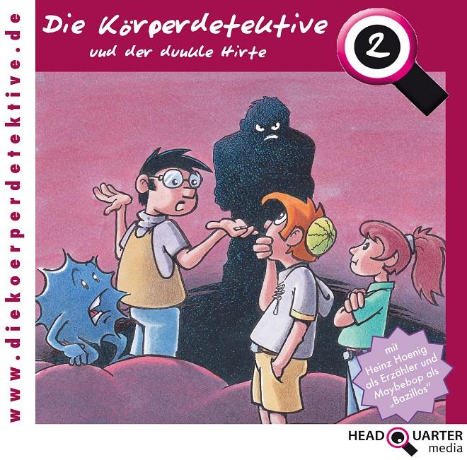 Körperdetektive CD-2 der dunkle Hirte