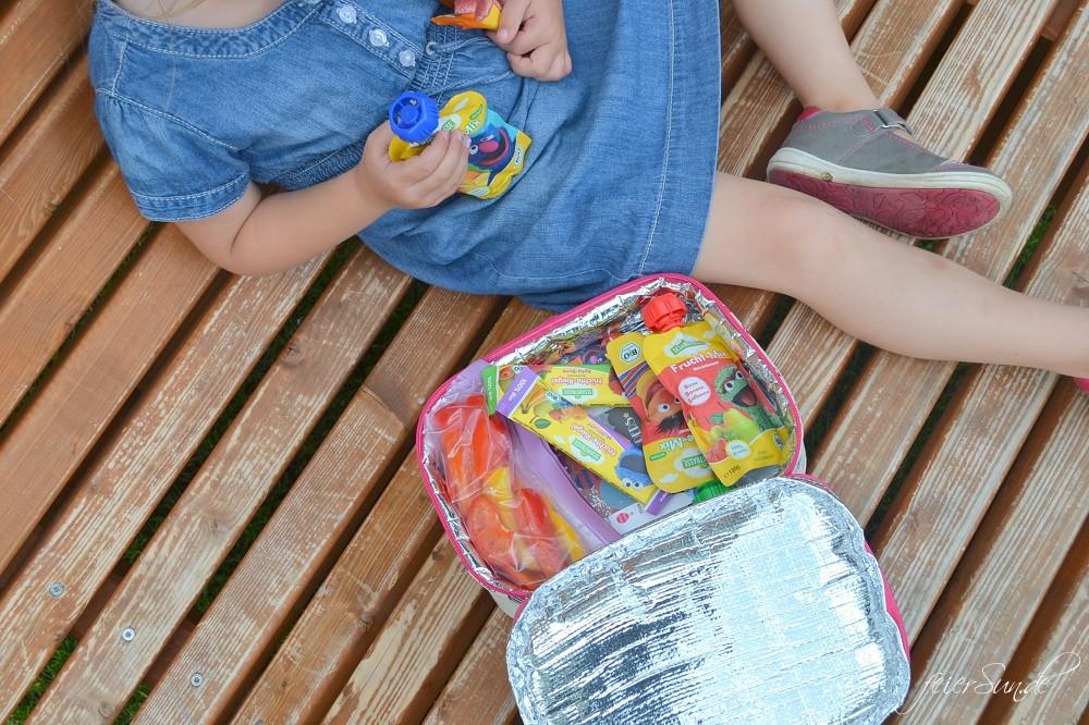 Ein Familientag im Freizeitpark - im Heide Park Soltau tankt meine Familie neue Power für den Alltag - Praviant unter anderem die Fruchquetschies aus der Sesamstrasse