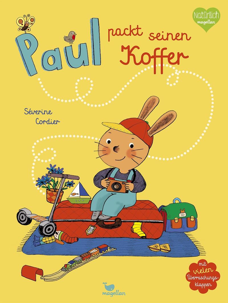 Nachhaltig lesen mit dem Magellan Verlag aus unserer #Buchecke Buch Paul packt seinen Koffer von Severine Cordier