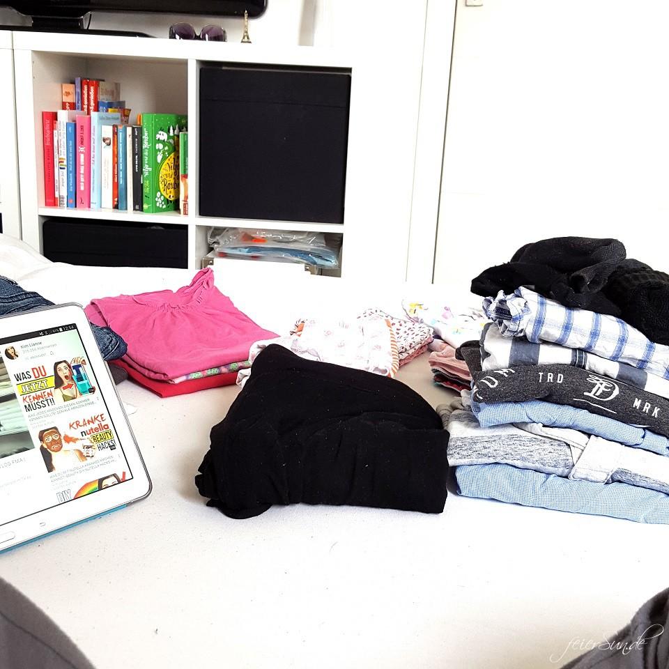 unser achtundzwanzigstes Wochenende Wäsche Wäsche Wäsche