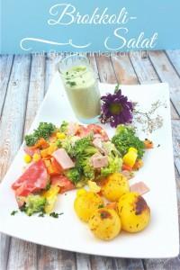 Brokkolisalat mit Rosmarinkartoffeln_Sommersalt_ein leckerer Salt für den Sommer_Brokkoli als Salat schmeckt super lecker