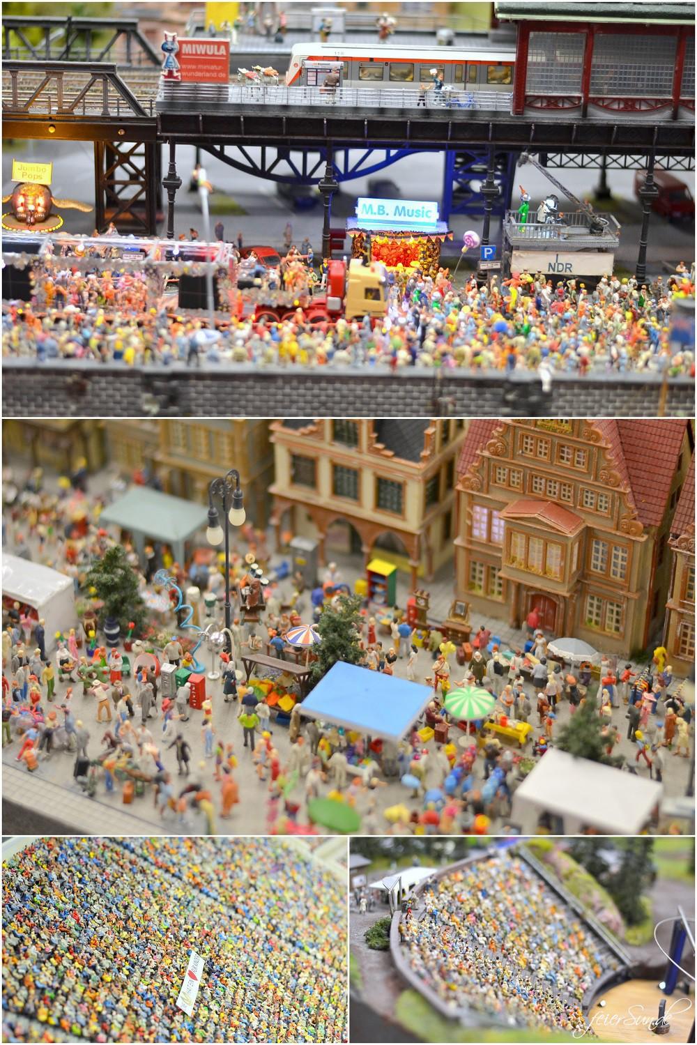 Miniatur Wunderland Kleine grosse-Welt_Grosse-Welt ganz-klein_folge-uns-ins-Modellland-Hamburg-Menschenansammlungen-mit-vielen-tollen-Details