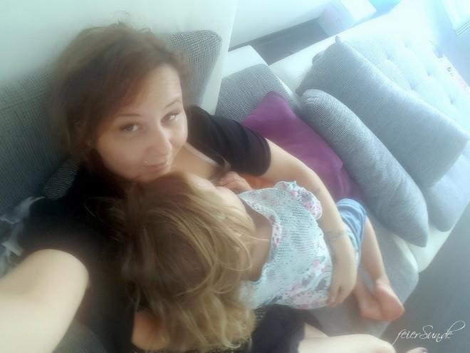 Ruhe - unser sechsunddreißigstes Wochenende 2016 - kuscheln und Naehe