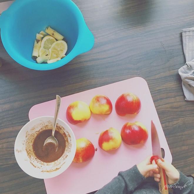 Kranksein - unser vierundvierzigstes Wochenende 2016_so_04_zusammen-kochen-backen-sein