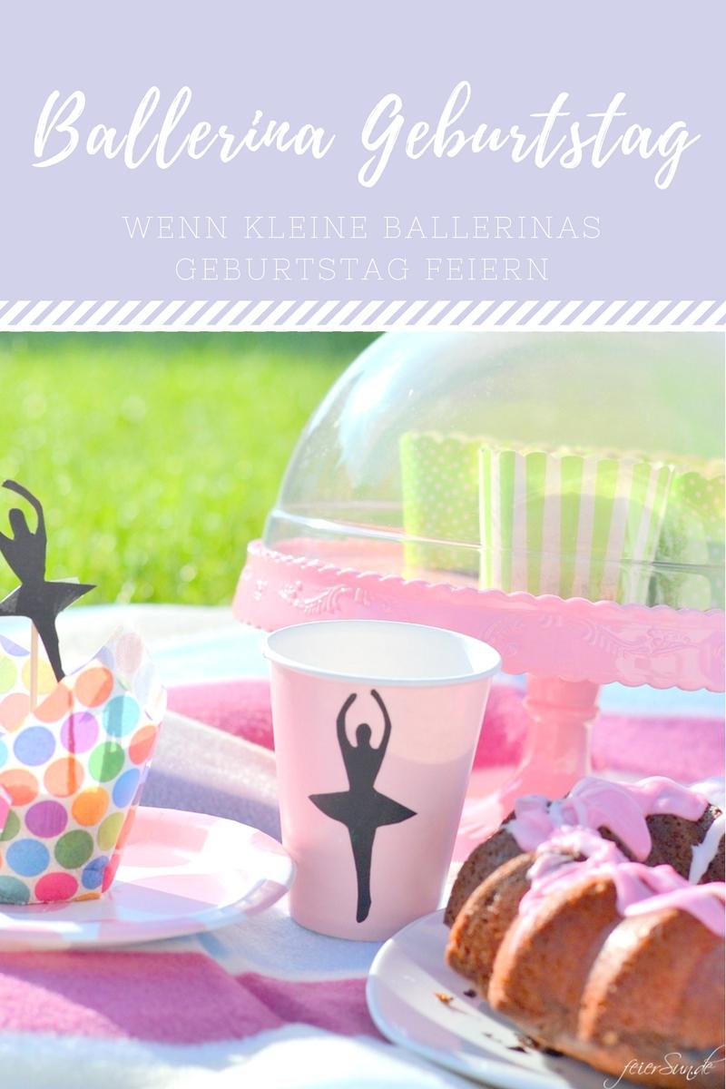 wenn kleine ballerinas geburtstag feiern kindergeburtstag maedchengeburtstag pinterest. Black Bedroom Furniture Sets. Home Design Ideas
