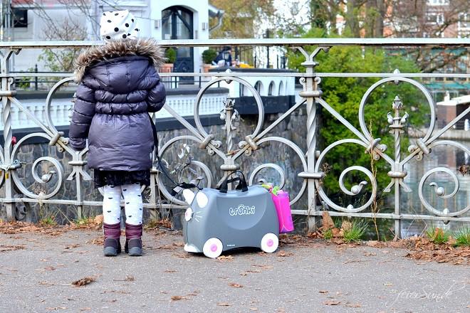 Ich packe meinen Koffer - einen Kinderkoffer. Mit eigenen Gepäck von Trunki. Mein Advends-Gewinnspiel mit Verlosung zu Weinachten für das Reisen mit Kind