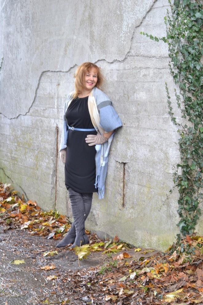 Kleid mit Poncho - Alte Liebe neu entdeckt ich-verliebe-mich-neu-in-Kleider