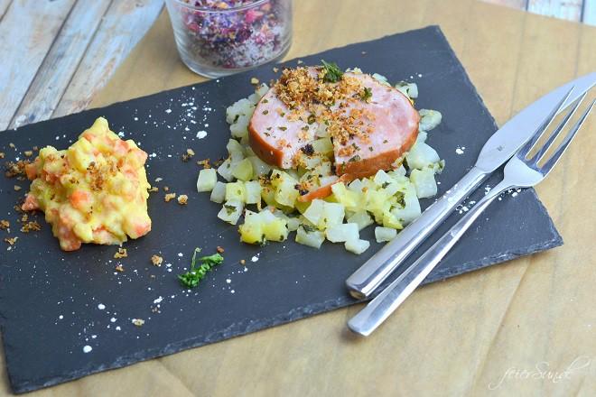 Kassler-trifft-Gemuese-Polenta-und-Kohlrabi_ein-leckeres-Essen-fuer-gross-und-klein
