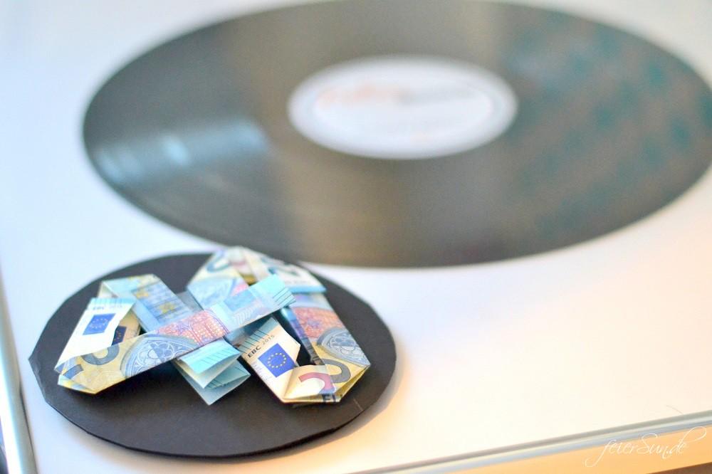 Vinyl Trifft Freundschaft Ein Geldgeschenk Feiersun De