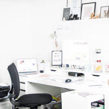 Inspiriere mich, (m)ein Büro mit eBay. Wie ich aus einem kleinen Büro einen Kreativ-Raum machte und woher meine Inspiration kam.