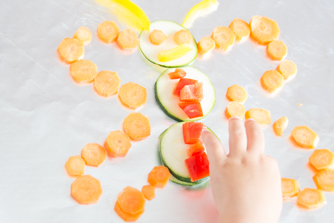 feierSun.de zeigt heute, wie man Gemüse in das Kind bekommt. In dem man es in bunte GemüsePäckchen steckt. Mit Kindern kochen. Lebensmittel erleben. feierSun.de I Familienleben - Lifestyle - Herz