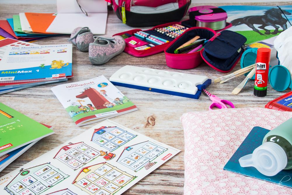 feierSun.de zeigt heute die iltimative Materialliste für die Einschulung. Inklusive Printable zum Ausdrucken und einkaufen. auf feiereSun.de I Familienleben - Lifestyle - Herz