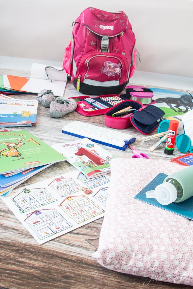feierSun.de zeigt heute die ultimative Materialliste für die Einschulung. Inklusive Printable zum Ausdrucken und einkaufen. auf feiereSun.de I Familienleben - Lifestyle - Herz alle Sachen