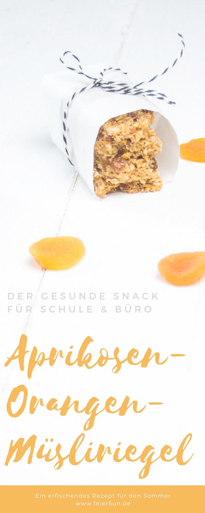 Auf feierSun.de zeige ich Dir, wie einfach Du MüSLiRiEgEl selber machen kannst. Außerdem hab ich spannende Infos über getrocknete Aprikosen den Vitaminbomben inklusive dem leckeren #Rezept für Aprikosen-Orangen-#MüsliRiegel für die #Lunchbox #Schulpause #Arbeit