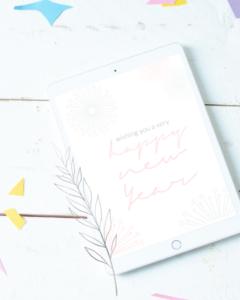 Pimp your Smartphone - kostenlose Hintergrund-Designs für dein Handy. Kostenlose Handyhintergründe für dein Smartphone, iPad oder Tablet. Auch als Desktophintergrund eignen sich viele Designs. kostenlose Neujahrsgrüße einfach downloaden und auf dein Handy oder Tablet laden | #feierSun #feierSunFreebie #feierSunWallpaper