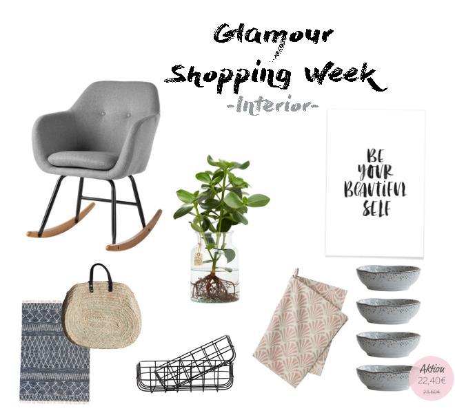 Ich zeige dir meine Interior Favoriten inkl. vieler Codes der Glamour Shopping Week für das Frühjahr 2018. Denn die Glamour Shopping Week hat wieder spannende Angebote im Schlepptau. Ich hab die eine Auswahl der Angebote und meine Lieblinge dieser herausgesucht. Damit bekommst auch du den Frühlingstrend 2018. | #Frühlingstrend #Trend2018 #Mode #Favoriten #Fashion #MomFashion #feierSun #feierSunStyle #Inspiration