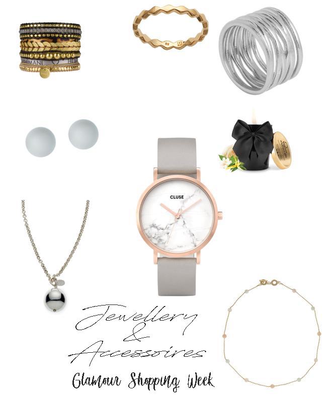 Ich zeige dir meine Juwelly & Accessoires Favoriten der Glamour Shopping Week für das Frühjahr 2018 inklusive der Codes meiner Liebligsshops. Denn die Glamour Shopping Week hat wieder spannende Angebote im Schlepptau. Ich hab die eine Auswahl der Angebote und meine Lieblinge dieser herausgesucht. Damit bekommst auch du den Frühlingstrend 2018. | #Frühlingstrend #Trend2018 #Mode #Favoriten #Fashion #MomFashion #feierSun #feierSunStyle #Inspiration