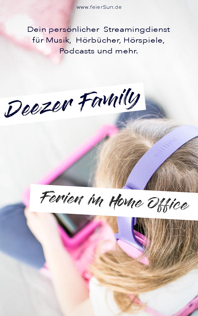 Mit Deezer Family kommst du trotz Ferien im Home Office zum Arbeiten und hast dabei sogar noch ein unterhaltendes Kind. Ich arbeite mit Deezer meinem persönlicher Streamingdienst für Musik, Hörbücher, Hörspiele, Podcasts und mehr. Home Offie mit Kind im Haus und etwas spannendes auf den Ohren.   #feierSun #Familienleben #feierSunFamily #Deezer #Anzeige #Streamingdienst #Musik #hörspiel #Geschichten