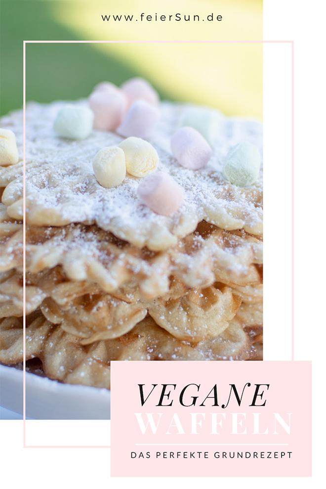 Vegane Waffeln | Waffeln die wirklich jedem schmecken | Mein sensationelles Waffelrezept als Waffel-Grundrezept. Dieses raffinierte Rezept eignet sich für jede Variation. Mein einfaches und unkompliziertes Grundrezept für saftige vegane Waffeln ohne Ei.