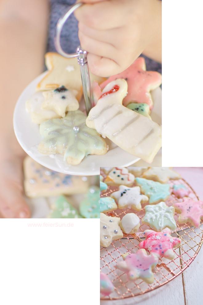 Vegane Kekse, für Advent und Weihnachten. Vegane Plätzchen für Tee und Kaffe schnell und einfach gemacht. Rezept für vegane Weihnachts Kekse (Plätzchen). Vegane Kekse - ein einfaches Rezept. Butterkekse aus der Weihnachtsbäckerei | #feierSun #feierSunFood