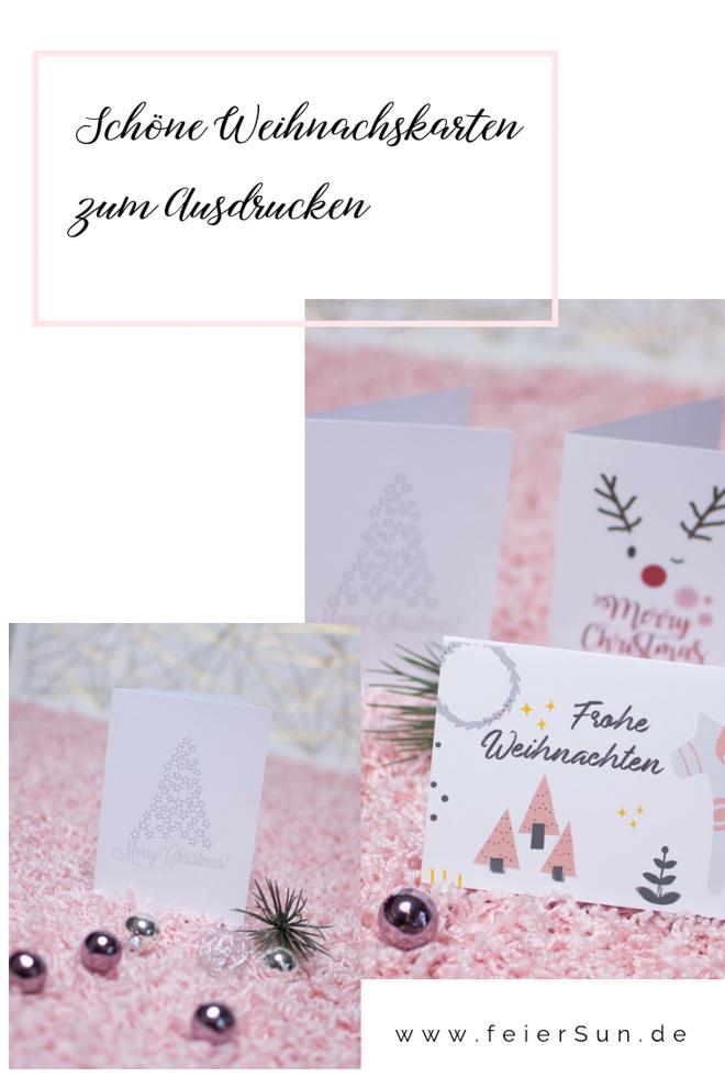 Weihnachtskarten Per Mail Gratis.Weihnachtskarten Zum Ausdrucken Feiersun De